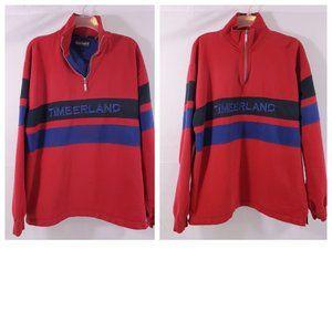 Timberland Signature ¼ Zip Pullover Sweatshirt